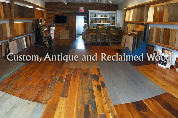Come visit our showroom full of custom antique and reclaimed hardwood today and check out all of our samples.  You are sure to find the perfect material for your next flooring project!