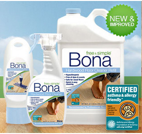 We recommend Bona as they are the #1 brand for floor maintenance products.